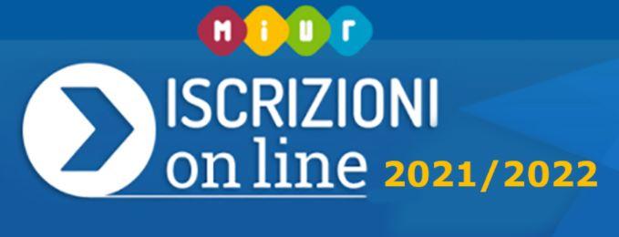 Iscrizioni online 2021 2022